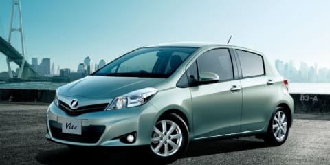 2012 Toyota Yaris on sale in Australia in Q4 2011