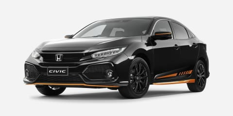 Honda Civic hatch Orange Edition launched