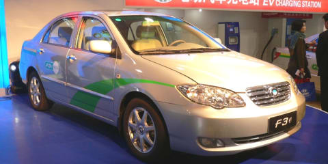 BYD F3e EV production plans abandoned
