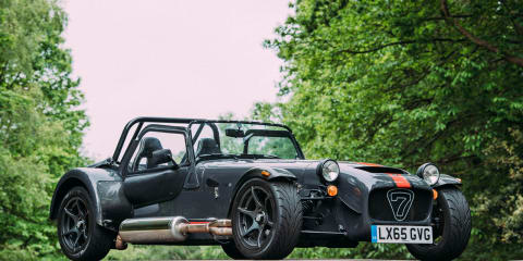Caterham celebrates 60 years of the Seven