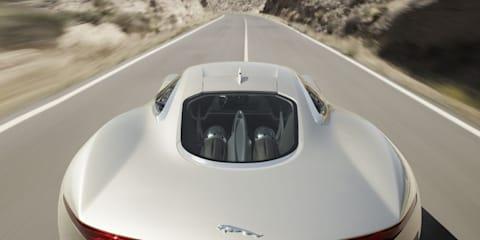 Jaguar C-X75 Preview