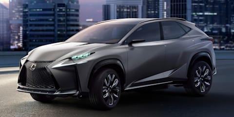 Lexus NX confirmed for 2014 Beijing motor show debut