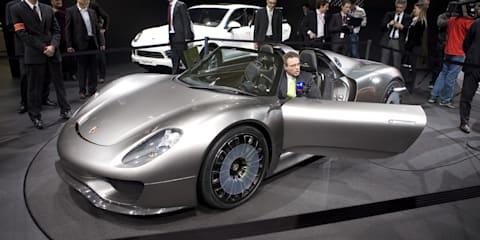Porsche 918 Spyder Concept - Geneva 2010