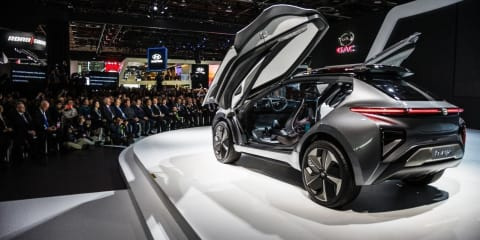 China's GAC Motor entering US next year, previews wild EV concept in Detroit