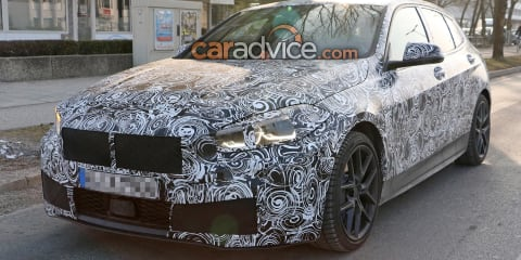 2020 BMW 1 Series spied inside and out