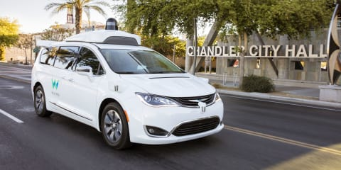 Waymo takes 'Early Riders' for a spin - VIDEO