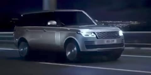 2018 Range Rover revealed in video leak