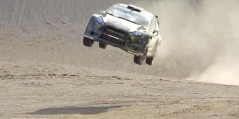 Ken Block's Ford Fiesta gets a little dusty in new video