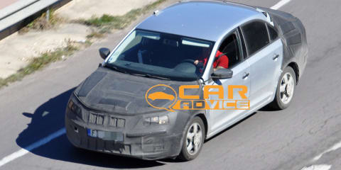 Skoda Rapid: spy shots of Czechs' new small car