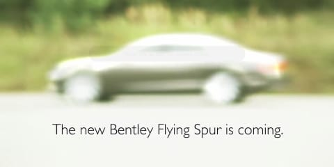 Bentley Flying Spur: sneak peek at second-gen super-luxury four-door