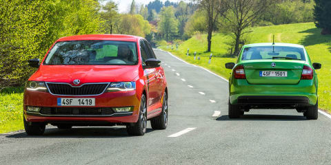 2018 Skoda Rapid detailed, here in September
