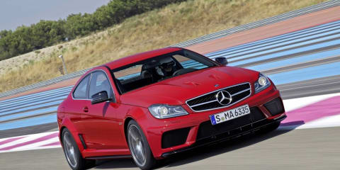 2012 Mercedes-Benz C 63 AMG Coupe Black Series: $245,000 in Australia