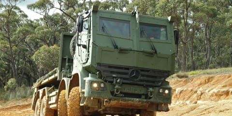Mercedes-Benz Armoured Vehicles Road Test
