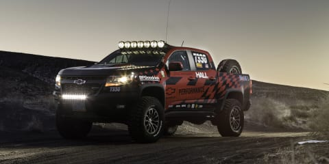 Chevrolet Colorado ZR2 race parts revealed