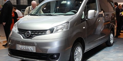 Nissan NV200 at Geneva Motor Show