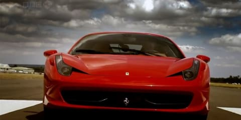 Video: Ferrari 458 Italia review on Top Gear
