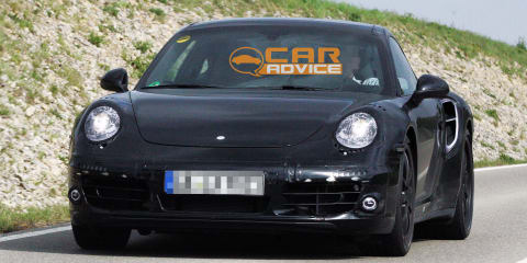 2012 Porsche 911 Turbo 991 spy shots