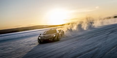 McLaren P1 testing in Arctic Circle
