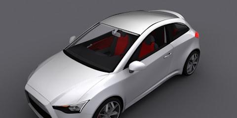Mitsubishi CS Design Concept by Gabor Farkas