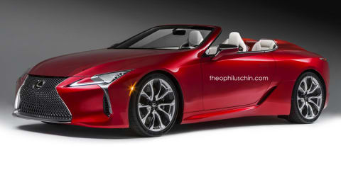 Lexus might make a convertible LC, but no F model before new V8 arrives