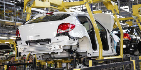 Holden Cruze hatch starts local production