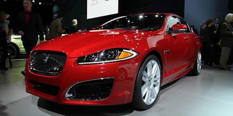 2012 Jaguar XF at the New York Show