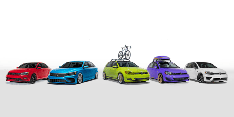 Volkswagen enthusiast fleet unveiled, will tour America