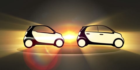 Smart sketches Fortwo and Forfour in new video