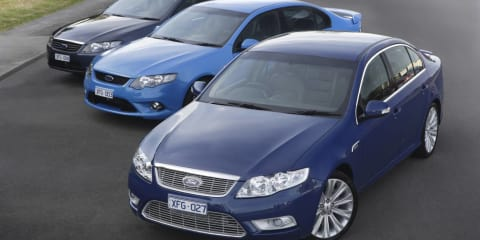 Ford Falcon and Territory safe until 2016