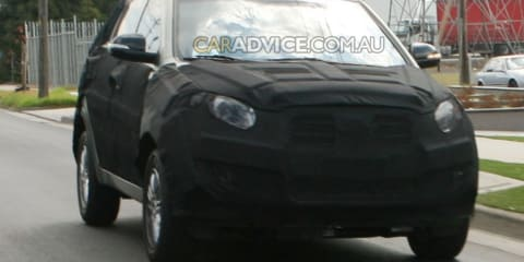 CarAdvice spies 2010 SsangYong Actyon in Melbourne, Australia