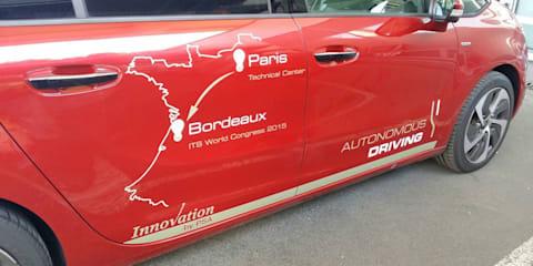 PSA Peugeot Citroen demonstrates driverless tech in 580km trek