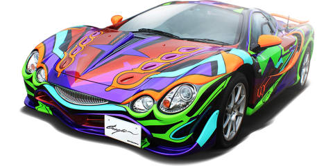 Mitsuoka Orochi Evangelion Edition will be the car's swansong