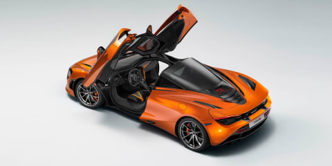 McLaren 720S leaked again ahead of Geneva