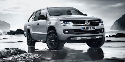 Volkswagen Amarok Dark Label : Style-centric ute here in early 2015