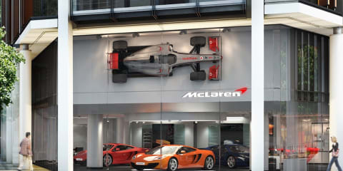 McLaren opens first new dealership as part of $1 billion plan