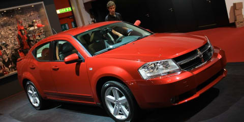 Dodge stand 2008 Geneva Motor Show