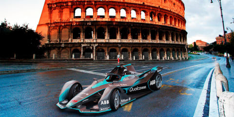 How much faster have Formula E cars become? - video