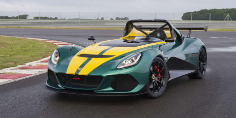 Lotus 3-Eleven unveiled