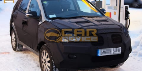 2011 Ssangyong C200 spy photos