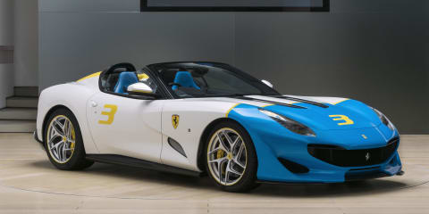 Ferrari SP3JC unveiled
