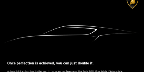 Lamborghini teases new car for Paris motor show