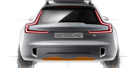 Volvo XC Coupe concept teases future crossover design