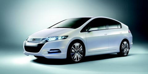 Honda's new Insight hybrid on show at MIMS