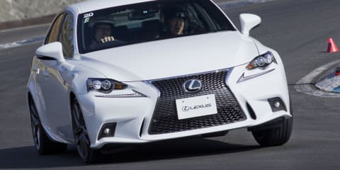 Lexus IS: four-wheel-steer F Sport ready for Oz