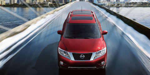 2013 Nissan Pathfinder targets Ford Territory