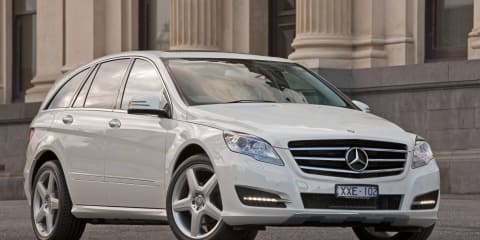 2011 Mercedes-Benz R 350 CDI LWB in Australia in March