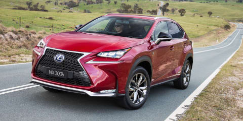 2014-2016 Lexus NX200t and NX300h recalled for brake hold fix
