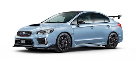 Subaru WRX STI S208 revealed for Tokyo motor show