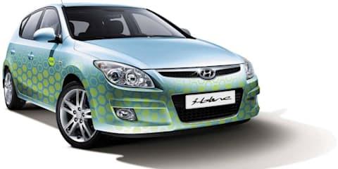 Hyundai's blue brand Melbourne preview