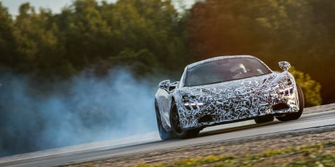 McLaren details new Proactive Chassis Control II, Variable Drift Control